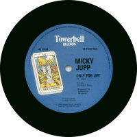 "Mickey Jupp - 12"" Only For Life - UK - Label"