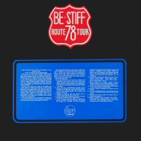 LP - Be Stiff Route 78 Tour - Promo Booklet, has the size of the cover