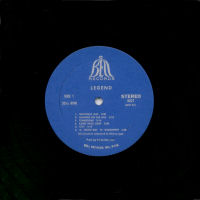 Legend - Stereo release - US - Label version 1